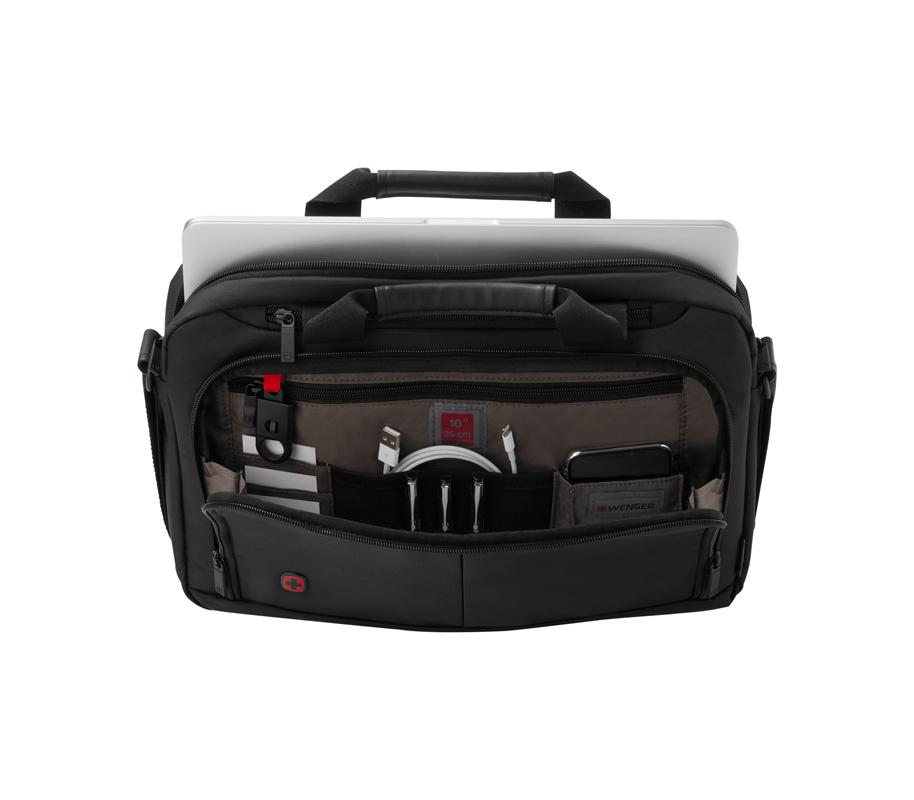 03f07de0efb2 Портфель для ноутбука 14' WENGER 601064 Source черный купить ...