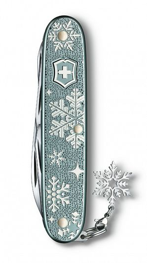 Нож складной VICTORINOX Pioneer X Winter Magic SE 2020 0.8231.22E1 93 мм