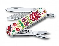 Нож брелок VICTORINOX Classic Happy Folks 0.6223.L1603