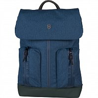 Рюкзак VICTORINOX 602145 Flapover Laptop Backpack синий 18 л  + Видеообзор