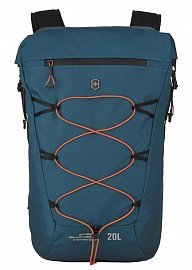 Рюкзак VICTORINOX 606901 Rolltop Backpack бирюзовый 20 л