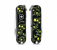 Нож брелок VICTORINOX 0.6223.L1905 When life gives you Lemons