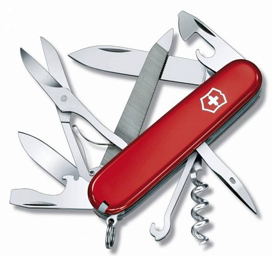 Нож складной Victorinox Mountaineer 1.3743 красный 91мм 18 функций